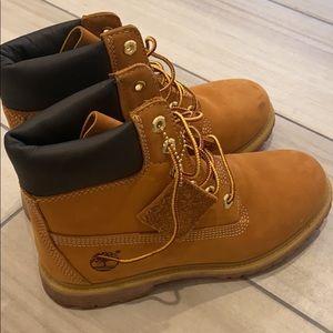 Women's Premium Wheat Timberland Boots